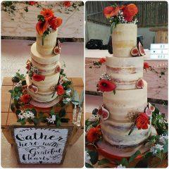 4-tier-semi-naked-wedding-cake