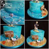 50TH-SEA-THEME-CAKE