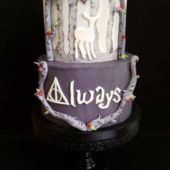 HARRY-POTTER-ALWAYS-WEDDING-CAKE