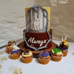 Harry-Potter-theme-wedding-cake