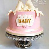 PINK-BABY-SHOWER-CAKE