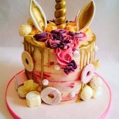 unicorn-drip-cake